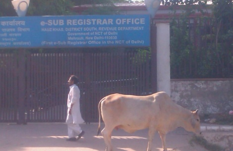 Mehrauli e-property registration