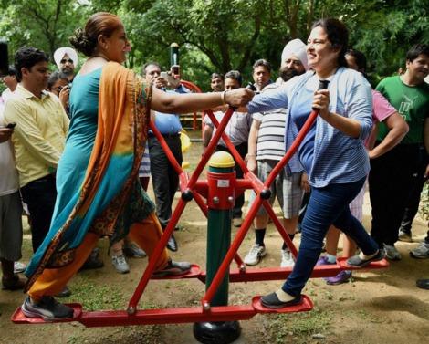 Open Gym at Lodhi Garden